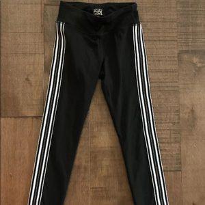 Athleta Girls XS 6 leggings black